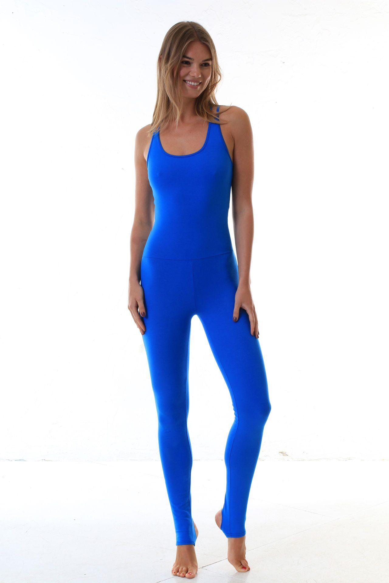 Купить комбинезон для йоги «Blue». Купить одежду для фитнеса и йоги ... 72920cda882
