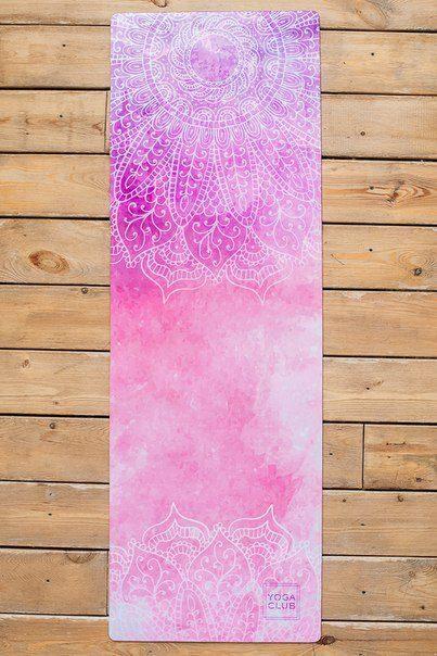 Купить коврик для йоги «Inspiration» Yoga Club. Йога коврик для ... f170dd69ca2