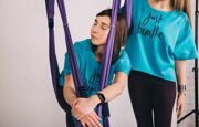 Свитшот «Just Breathe» YogaStudioFabric